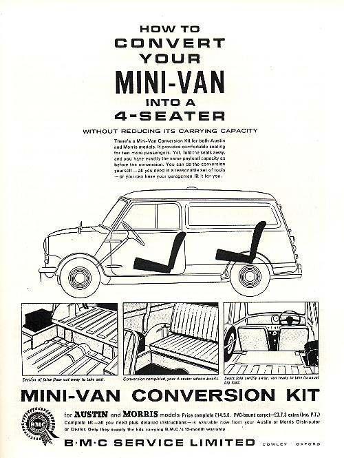 l u0026 39 actu de la mini classique mais pas seulement  u00bb mini van