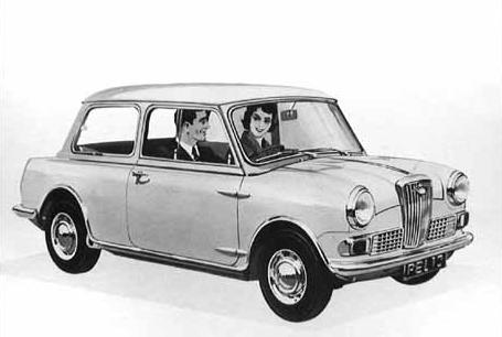 Classic Austin Mini Chrome Coffre Charnière Lot Kitcar